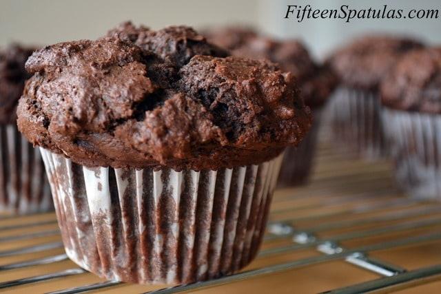 Chocolate Chunk Muffins – Fifteen Spatulas