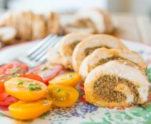 Chicken Roulade with Sundried Tomato Pesto