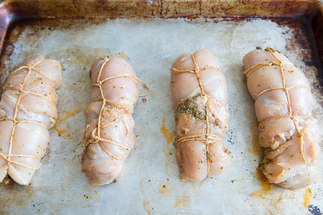 Easy Chicken Roulade Recipe