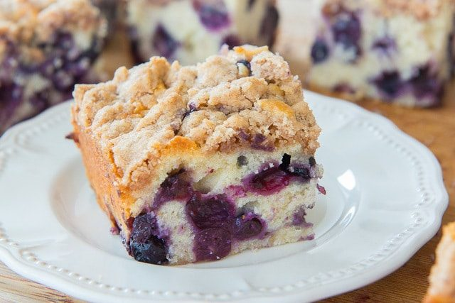 Baked Blueberry Buckle Recipe