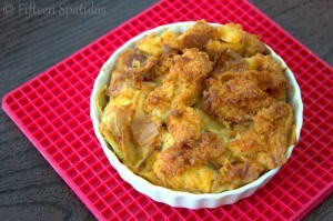 leek bread pudding recipe for thanksgiving dinner