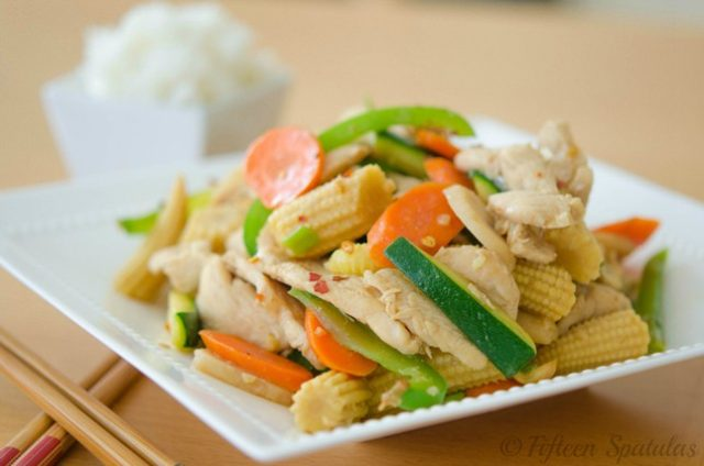 quick chicken stir fry recipe