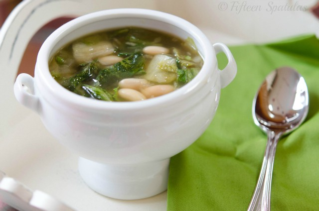 Healthy White Bean Escarole Soup Recipe