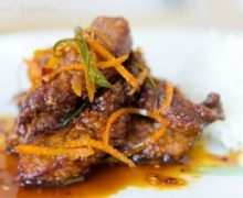 Crispy Orange Beef - Chinese Takeout at Home
