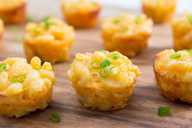 Mac and Cheese Cups - A fun party appetizer!