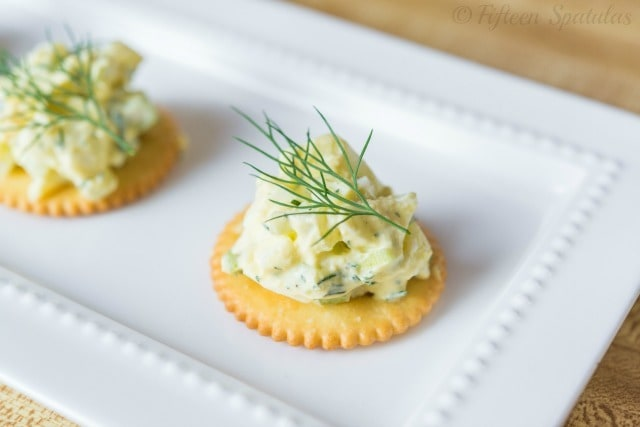 Egg Salad Recipe @fifteenspatulas
