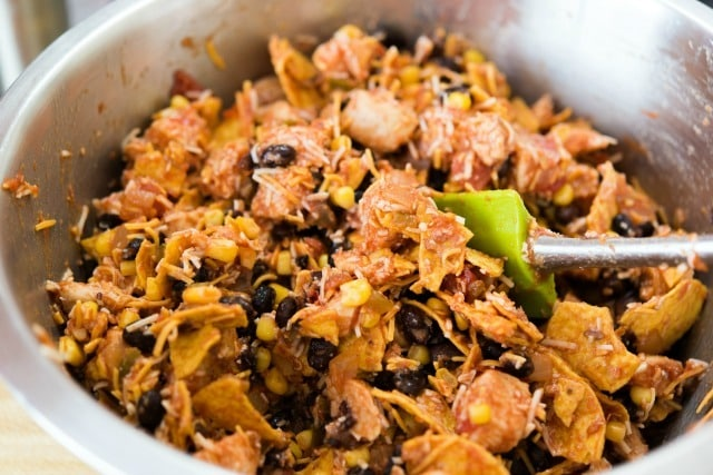 Quick Weeknight Tex-Mex Chicken Casserole Recipe