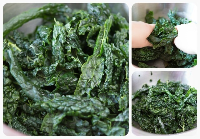 Why you should massage kale for s