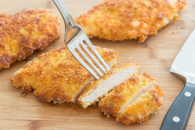 Parmesan Crusted Chicken Fifteen Spatulas