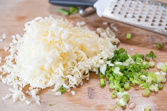 Cheddar Scallion Potato Frittata Recipe