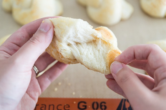 Homemade Garlic Knots Recipe