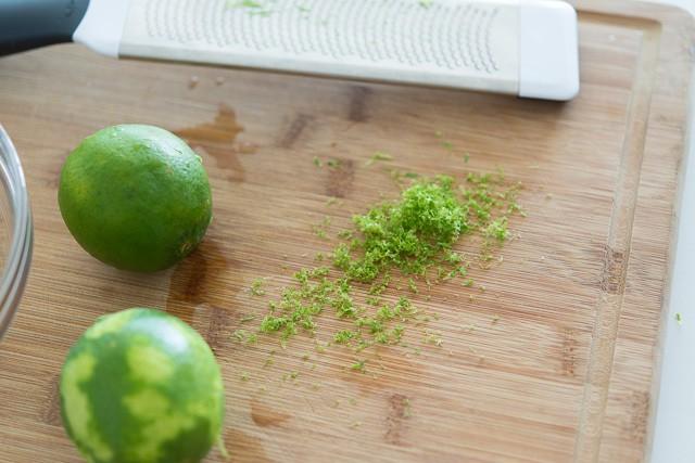Sticky Honey Lime Glazed Chicken Recipe @fifteenspatulas
