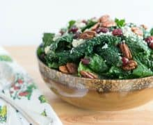 Kale_Salad_Blue_Cheese_Cranberries_Recipe_fifteenspatulas_2