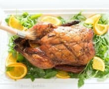 Orange Glazed Five Spice Duck