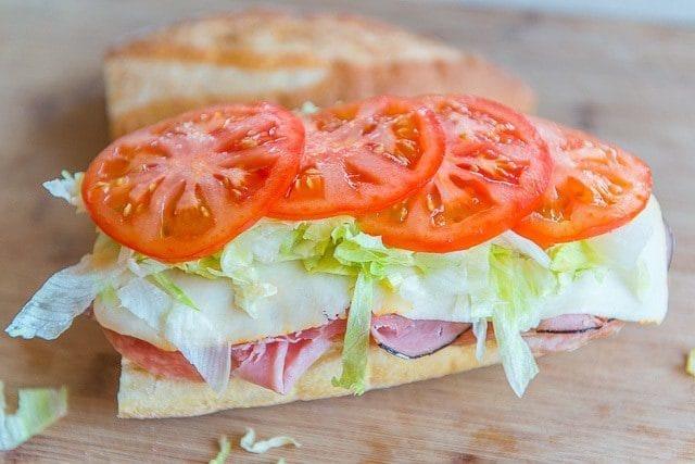 Italian Club Sandwich Recipe fifteenspatulas.com