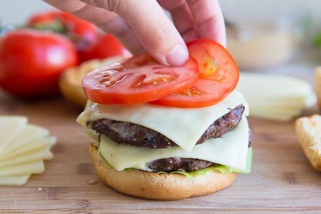 Land O Lakes Deli American Burger
