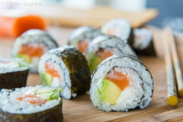 Sushi is easy and fun to make at home!