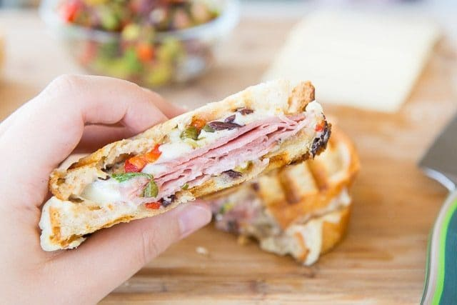 Grilled Muffuletta Sandwich - A Twist on a NOLA classic