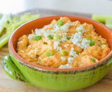 Crockpot Buffalo Chicken Dip Recipe