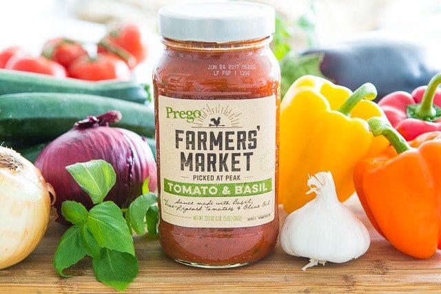 Prego Farmers' Market with Shortcut Ratatouille