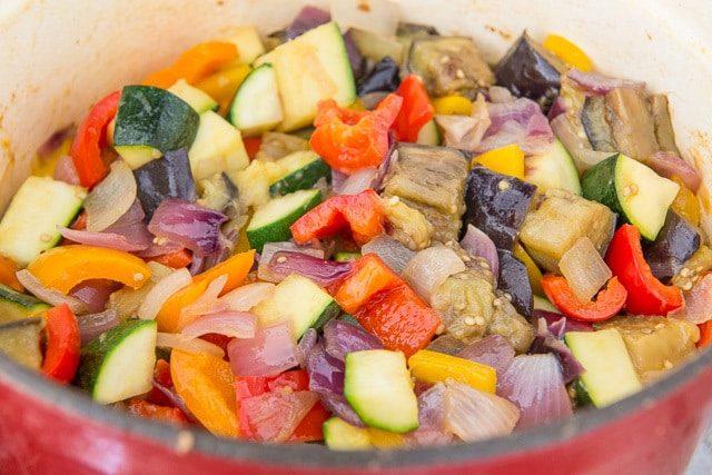 Fresh Vegetables for Shortcut Ratatouille