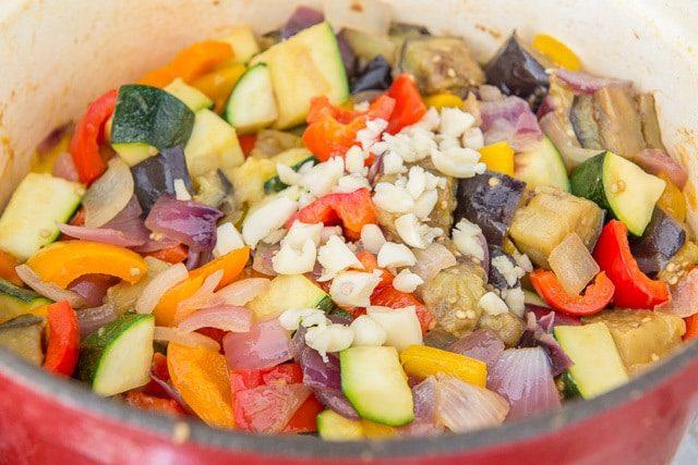 Shortcut Ratatouille Vegetables