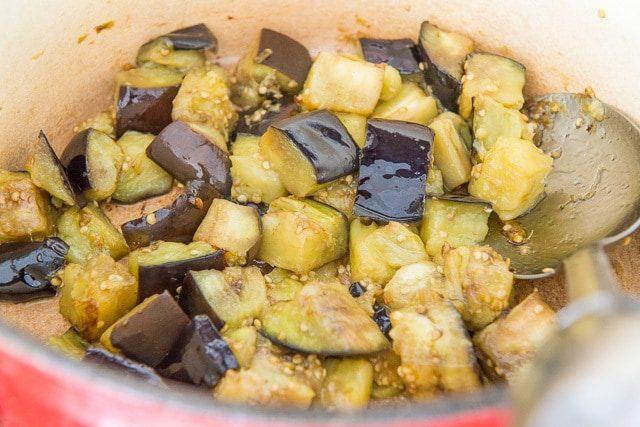 Eggplant for Shortcut Ratatouille