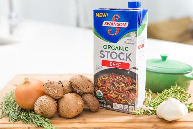Swanson Organic Beef Stock for Roast Beef Tenderloin
