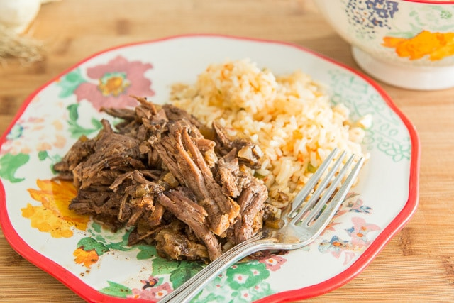 Shredded Slow Cooker Beef