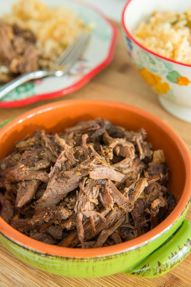 Crockpot Shredded Mexican Beef