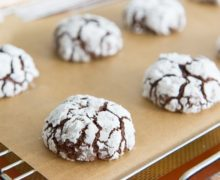 Chocolate Crinkle Cookies - One of my Christmas Favorites!