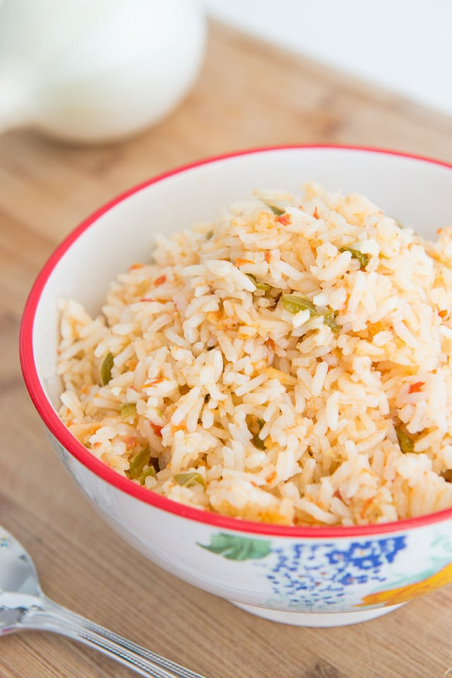 Fluffy and Easy Mexican Rice