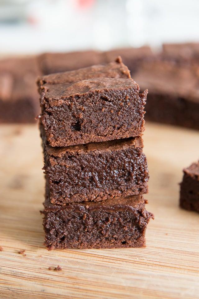 Fudgy Coconut Oil Brownies Recipe