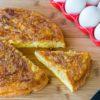 Easy Hash Brown Frittata Recipe