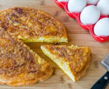 Easy Hash Brown Frittata Recipe