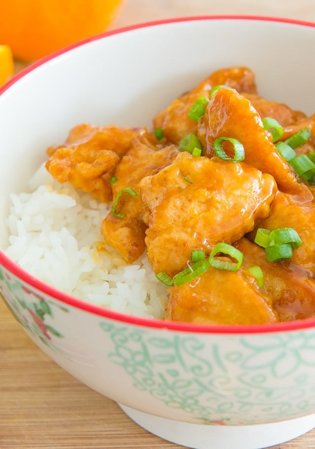 Orange Chicken is so easy to make at home. Skip the Chinese takeout!