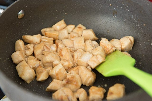 Quick and Easy Kung Pao Chicken with Peanuts