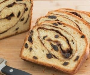 Dietary restriction friendly Homemade Cinnamon Raisin Bread