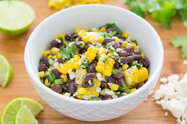 Mexican Corn and Black Bean Salad - Perfect summer picnic and potluck recipe