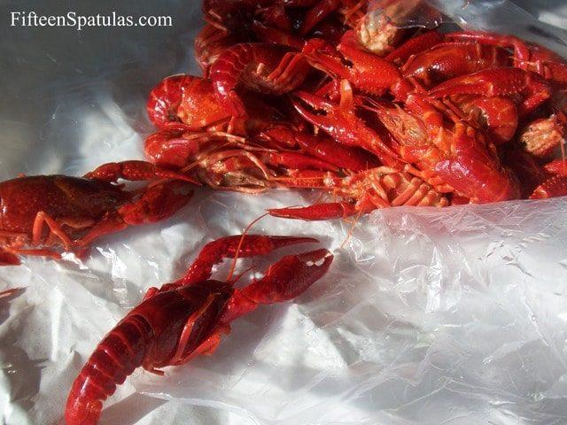 Fresh Crawfish used for Fresh Pasta