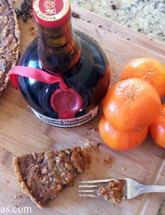 Grand Marnier Orange Walnut Tart