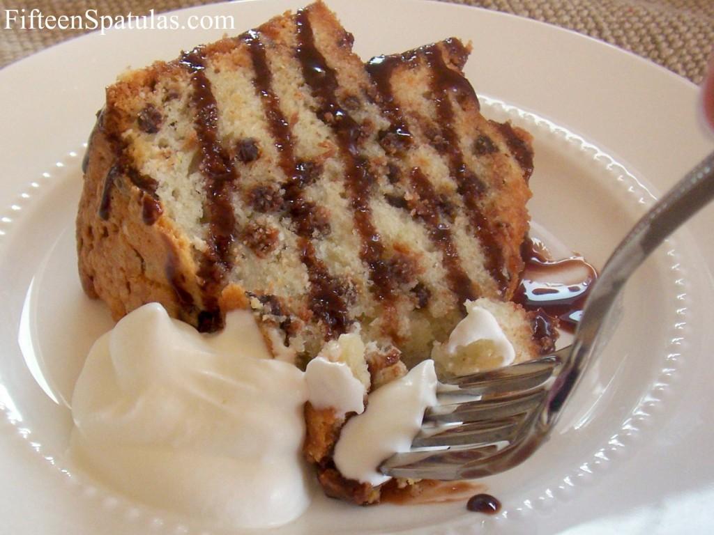 Chocolate Chip Amaretto Pound Cake