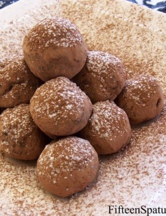 Spiced and Spiked Chocolate Truffles