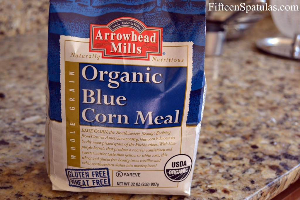 Blue Cornbread Recipe @fifteenspatulas