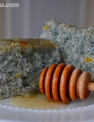 Blue Corn Cornbread
