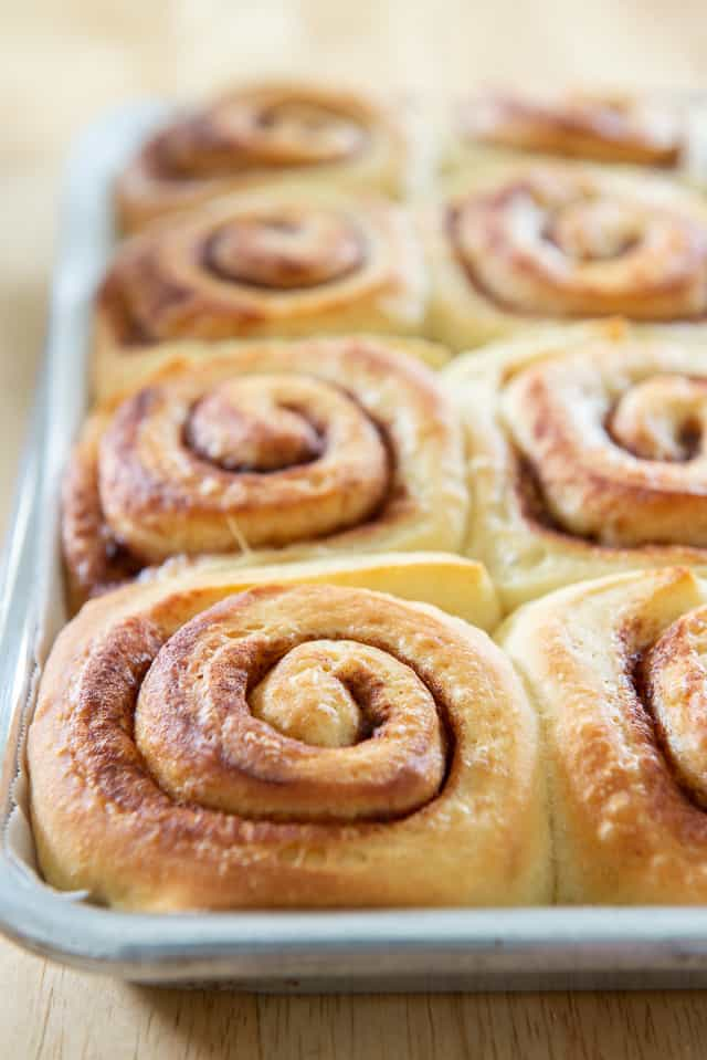 Cinnamon Roll Recipe - With Choice of Cream Cheese Frosting or Orange Butter Icing