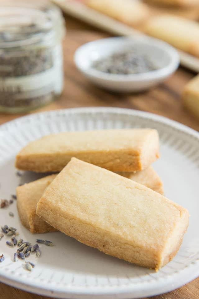 Best Shortbread Cookie Recipe: Lavender Shortbread Cookies
