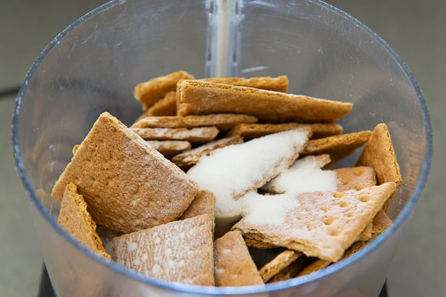 Graham Cracker Crust - Grind in Food Processor with Sugar