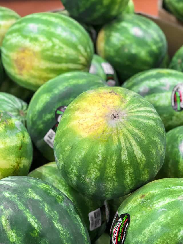 6 tips for How to Pick a Good Watermelon #watermelon