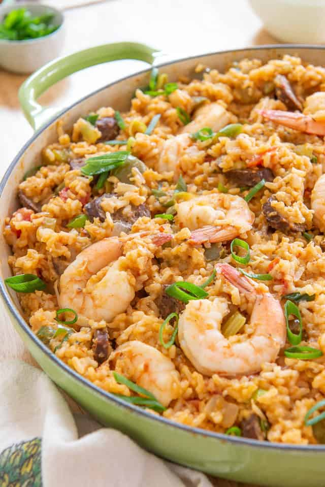 Jambalaya is flavorful and easy to make!